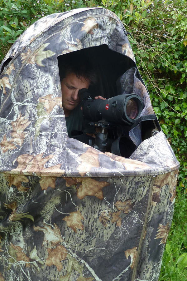Nick Baker Reviews The Stealth Gear One Man Chair Hide For