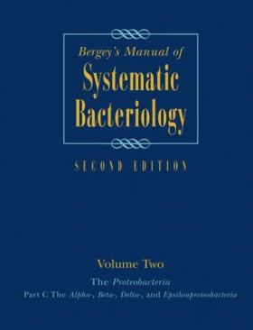 Bergey's Manual of Systematic Bacteriology: Volume 2 (3-Volume Set)