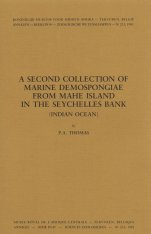 A Second Collection of Marine Demospongiae From Mahe Island In The Seychelles Bank (Indian Ocean)