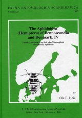 The Aphidoidea (Hemiptera) of Fennoscandia and Denmark, Part 4