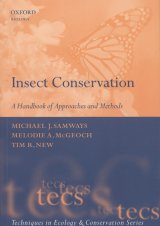 Insect Conservation - A handbook of approaches and methods