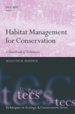 Habitat Management for Conservation - A handbook of tehniques