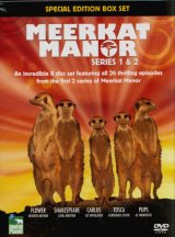 Meerkat Manor - DVD: Series 1 & 2 Boxset (Region 2)