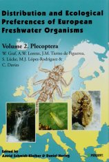 Distribution and Ecological Preferences of European Freshwater Organisms, Volume 2: Plecoptera