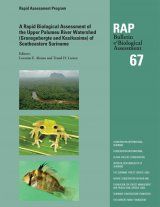 A Rapid Biological Assessment of the Upper Palumeu River Watershed (Grensgebergte and Kasikasima), Southeastern Suriname
