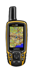 Garmin GPSMAP 64 with 1:50k GB Discoverer Mapping Software