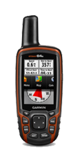 Garmin GPSMAP 64s with 1:50k GB Discoverer Mapping Software
