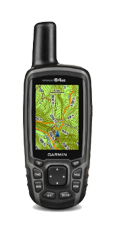 Garmin GPSMAP 64st with 1:50k GB Discoverer Mapping Software