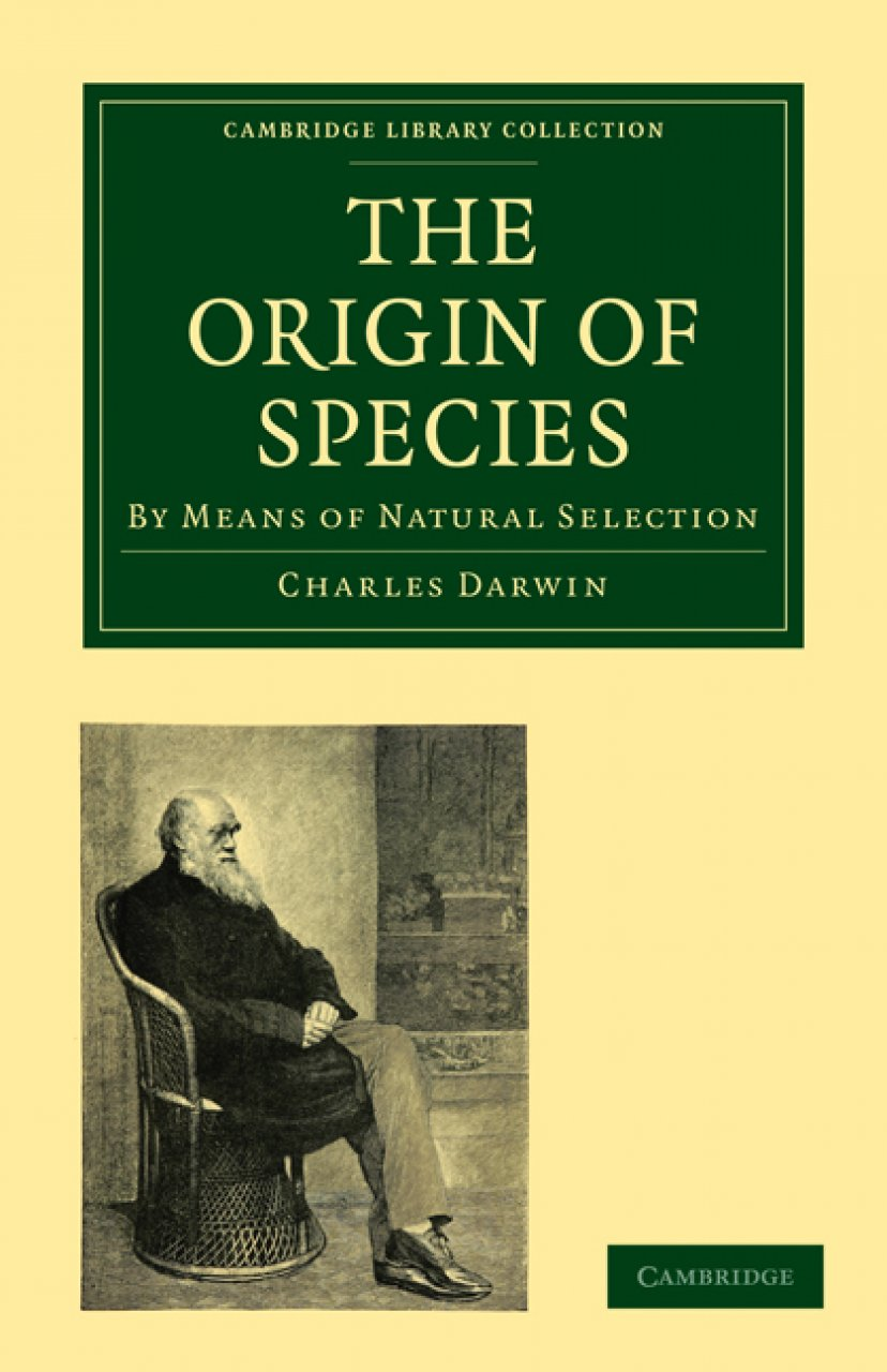 the necessity of the process of change for growth in the origin of species by charles darwin