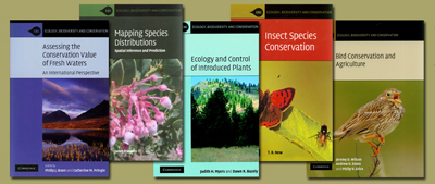 Ecology, Biodiversity and Conservation series