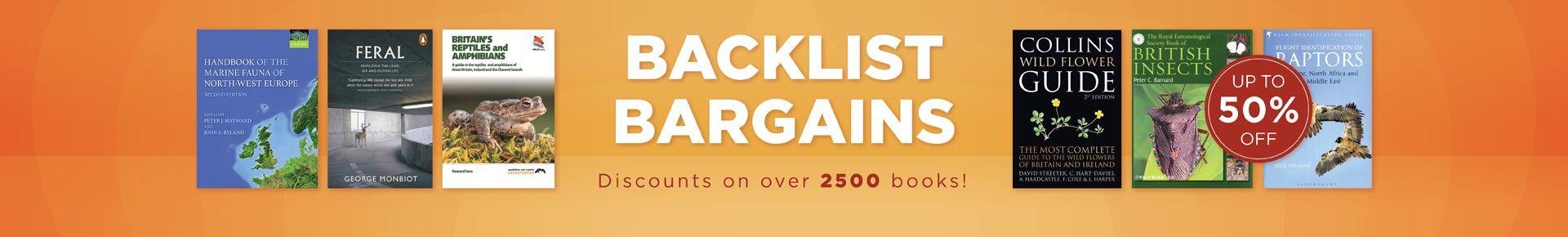 Backlist Bargains