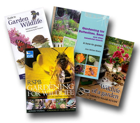 Four great books for wildlife gardeners