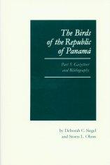 The Birds of the Republic of Panama, Volume 5 Image
