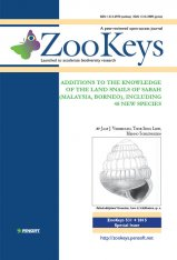 ZooKeys 531: Additions to the Knowledge of the Land Snails of Sabah (Malaysia, Borneo), Including 48 New Species Image