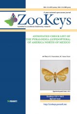 ZooKeys 535: Annotated Check List of the Pyraloidea (Lepidoptera) of America North of Mexico Image