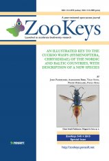 ZooKeys 548: An Illustrated Key to the Cuckoo Wasps (Hymenoptera, Chrysididae) of the Nordic and Baltic Countries, with Description of a New Species Image